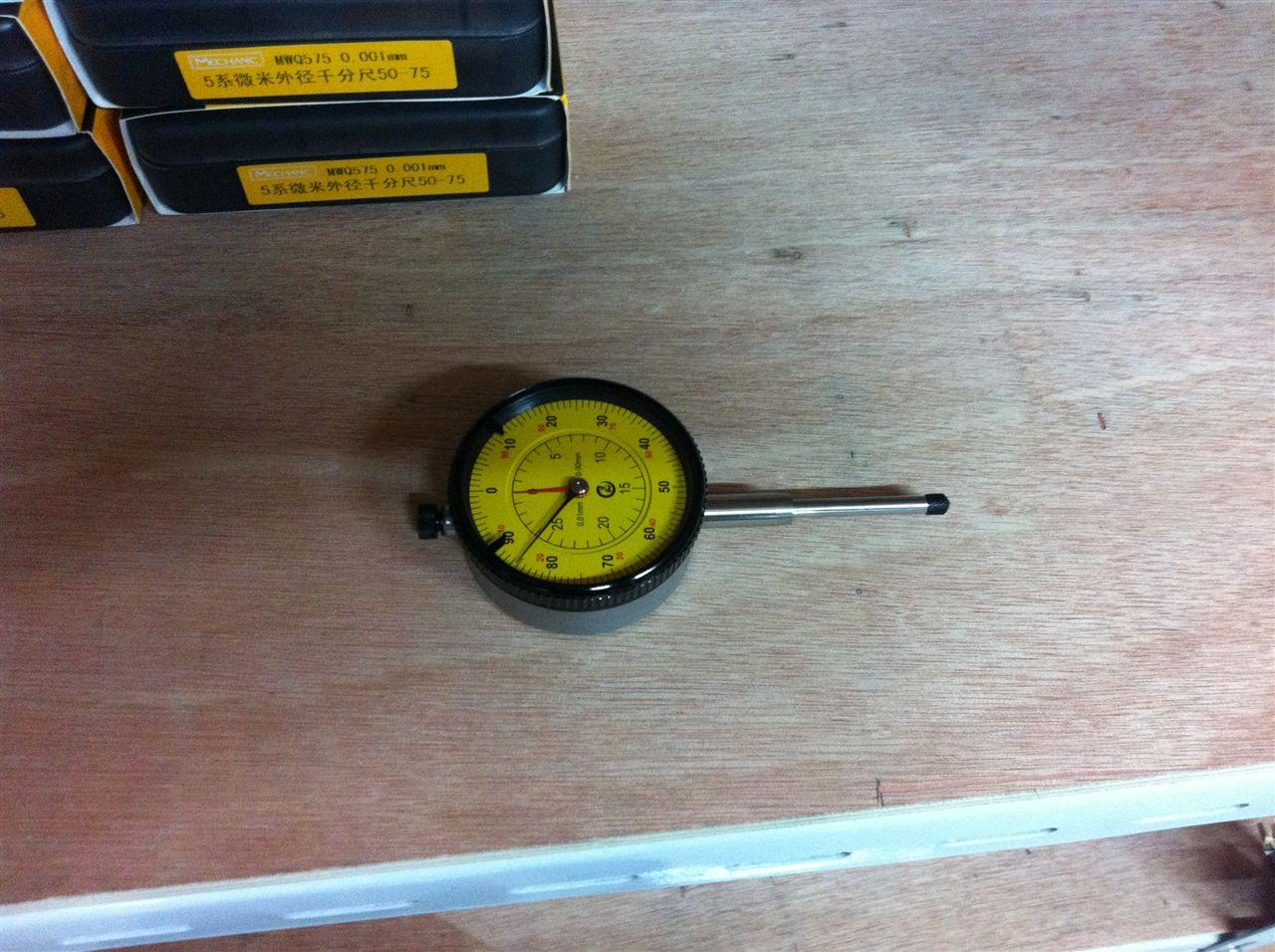 机械工人量具5系百分表0-30X0.01