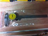 机械工人量具3系双向防震带表卡尺0-150X0.02