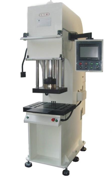 供应深圳数控油压机/单柱数控油压机