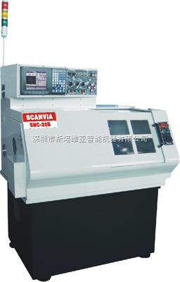 SNC-20B小型超精密CNC排刀式车床