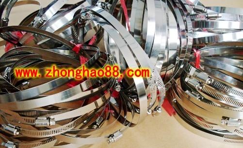 """中浩公司生产的卡箍 ( 管箍、喉箍、卡子、抱箍)具有专业高水准的设计能力,多年来,企业坚持""""以质量求"""