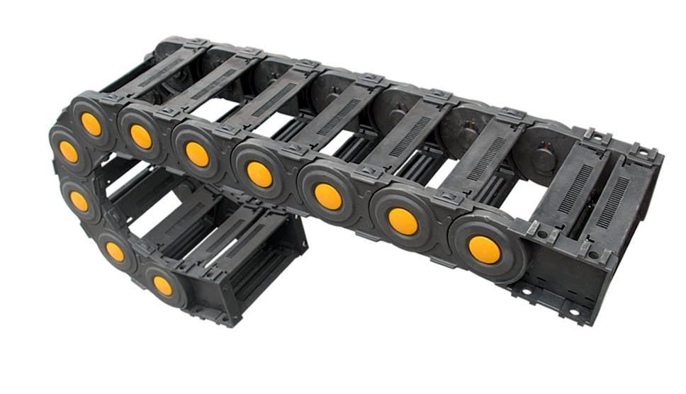尼龙拖链,尼龙塑料拖链,塑料尼龙拖链,线缆拖链,电缆拖链