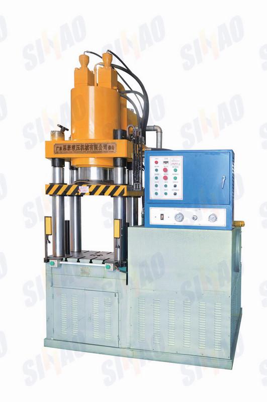 冷挤压机价格,三梁四柱液压机,铝挤压机,铝冷挤压, 冷挤压成型机