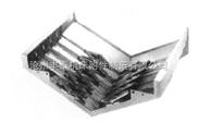 机床导轨防护罩-钢板防护罩 立柱防护罩