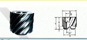 硬质合金焊接套式铣刀(绞刀)
