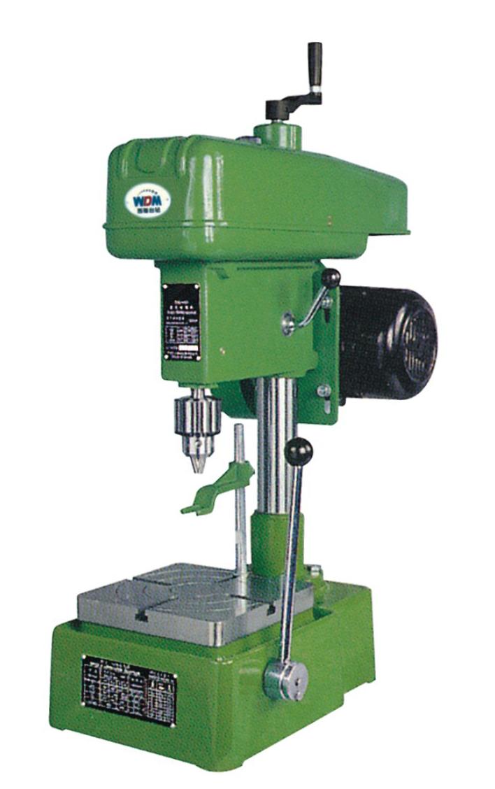 swj-10b攻丝机采用机械摩擦离合器使主轴正反转