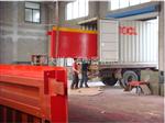 SCS-D50吨地磅,60吨地磅,80吨电子地磅出口到美的