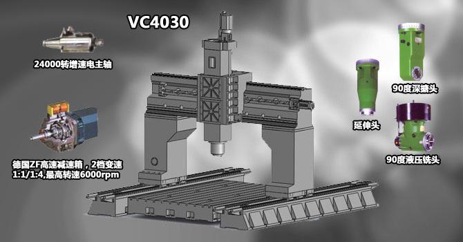 VC850立式加工中心