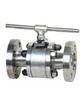 Q41H/Y-40C-DN100高温硬密封浮动球阀型号